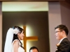 Exchanging of rings at Willowdale Pentacostal Church