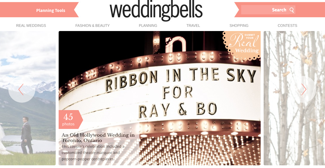 Rebecca Chan featured in Wedding Bells