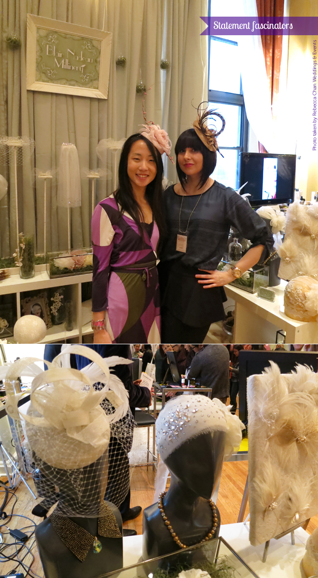 Wedluxe Show 2013 Blair Nadeau Millinery