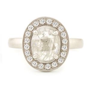 Anne Sportun Slice Engagement Rings