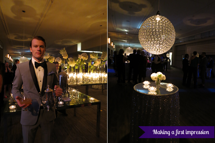 The Carlu, Decadence gala - Making a first impression