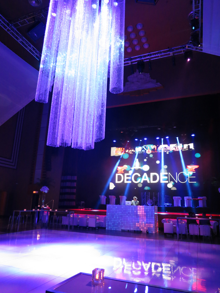 The Carlu, Decadence gala - A rocking dance floor