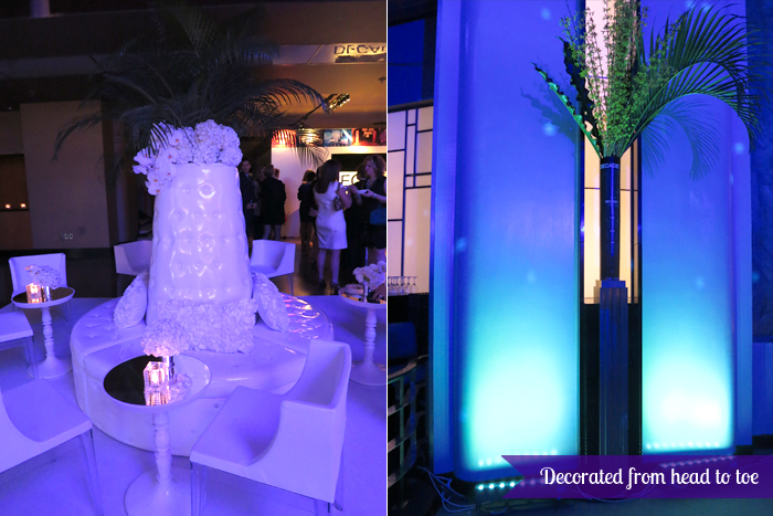 The Carlu, Decadence gala - Lavish decor