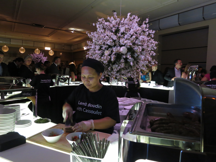 The Carlu, Decadence gala - Daniel et Daniel food station