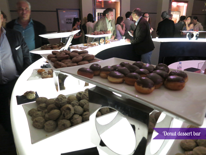 The Carlu, Decadence gala - Donut bar