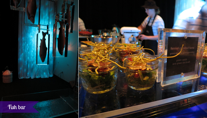 The Carlu, Decadence gala - Fish bar