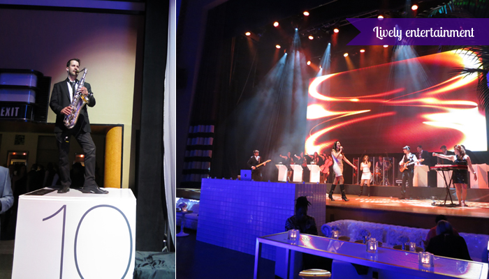 The Carlu, Decadence gala - Lively entertainment