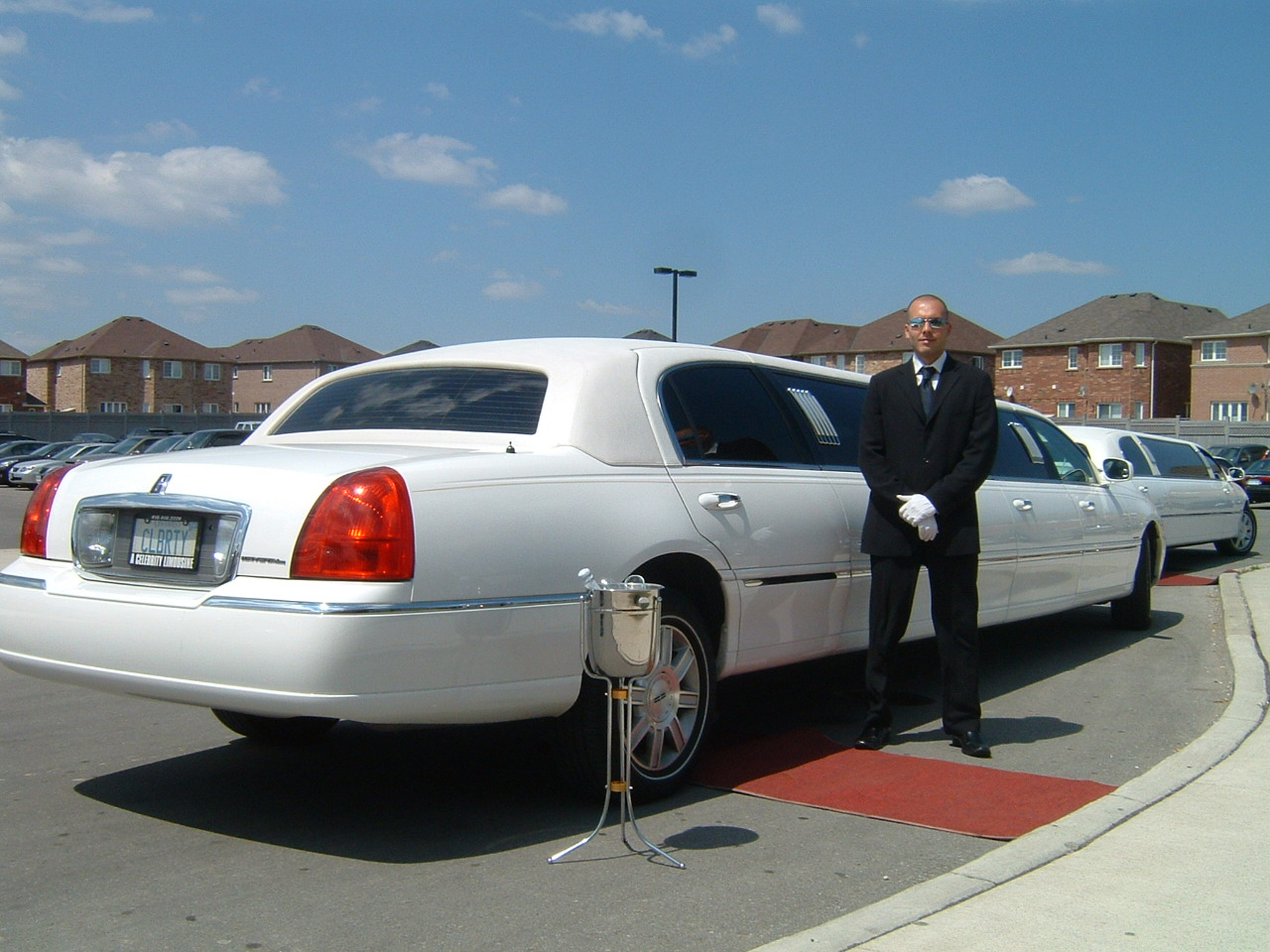 Wedding Day Transportation - Limousine