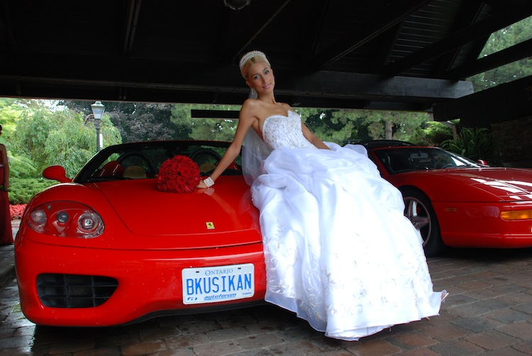 Wedding Day Transportation - Exotic rentals