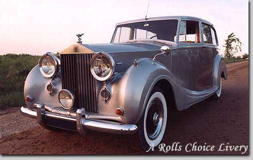 Wedding Day Transportation - Rolls Royce