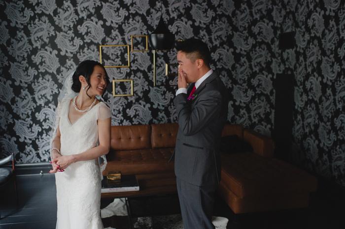 A wedding planner's wedding - first look