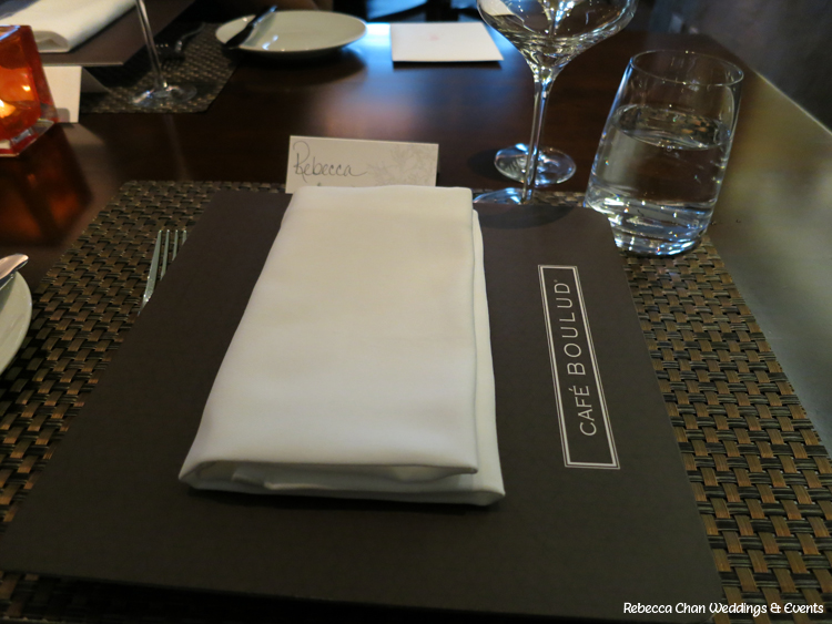 Dining with Daniel Boulud at Four Seasons