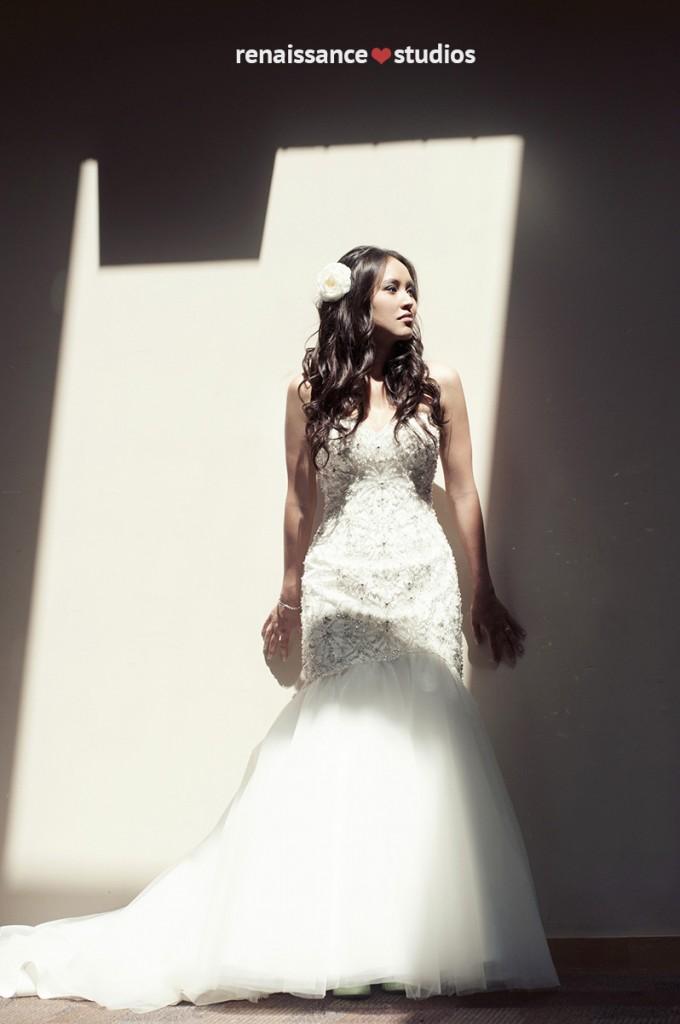 DIY Handmade wedding - the bride. www.rebeccachan.ca