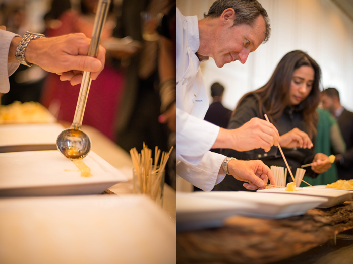Guests will delight in an interactive food station. How about a Canadian-inspired maple taffy station? www.rebeccachan.ca