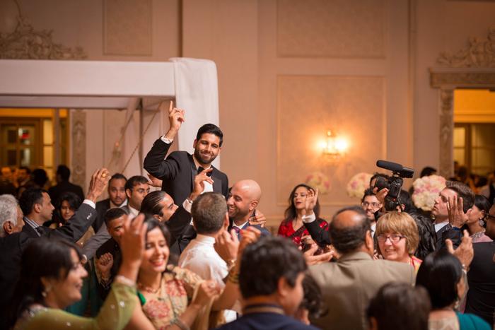 Romantic Indian Fusion wedding. www.rebeccachan.ca