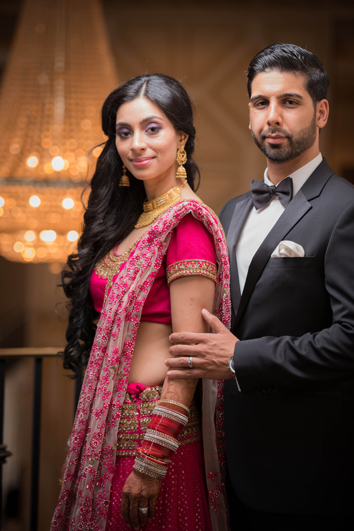 Romantic Indian Fusion wedding. See more at Rebecca Chan Weddings and Events http://www.rebeccachan.ca