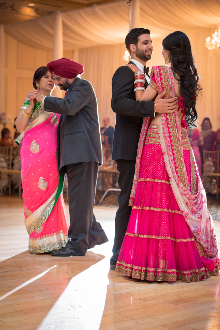 Romantic Indian Fusion wedding, first dance. See more at Rebecca Chan Weddings and Events http://www.rebeccachan.ca