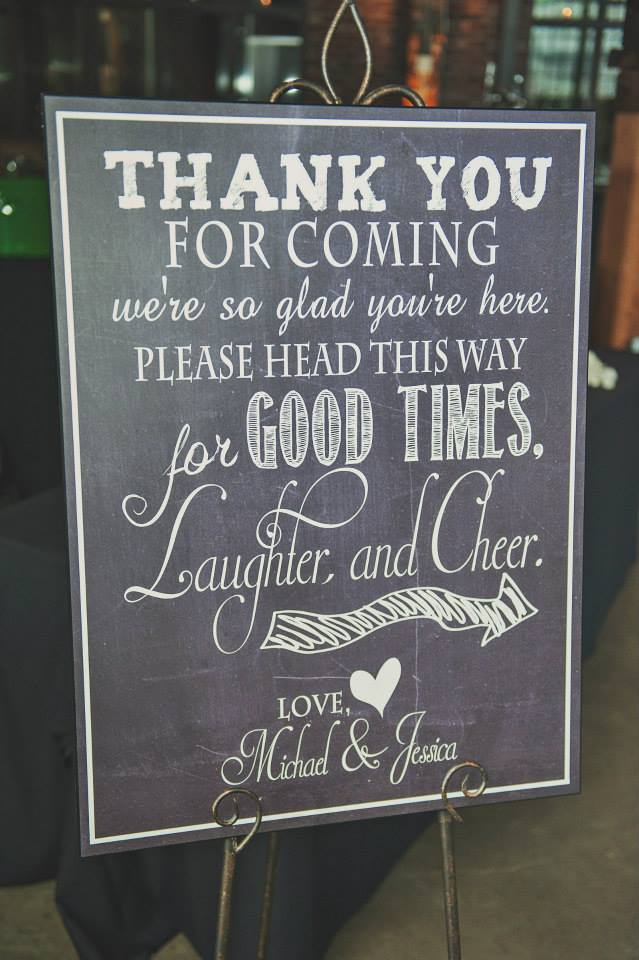 Custom wedding welcome sign for guests. See more at Rebecca Chan Weddings and Events http://www.rebeccachan.ca