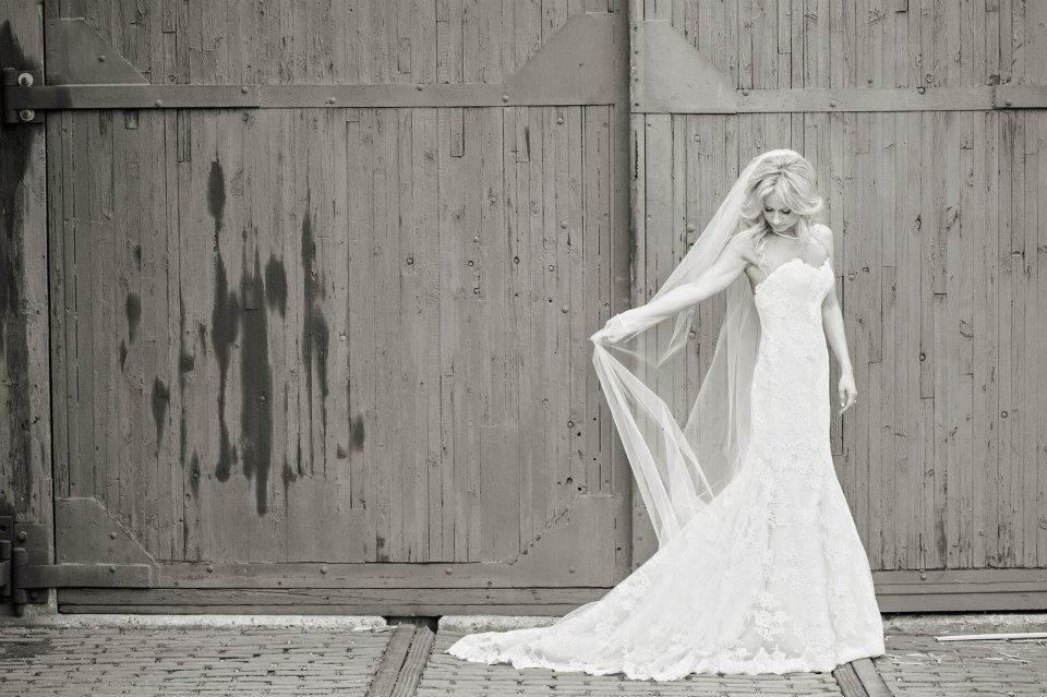 The blushing bride.  www.rebeccachan.ca