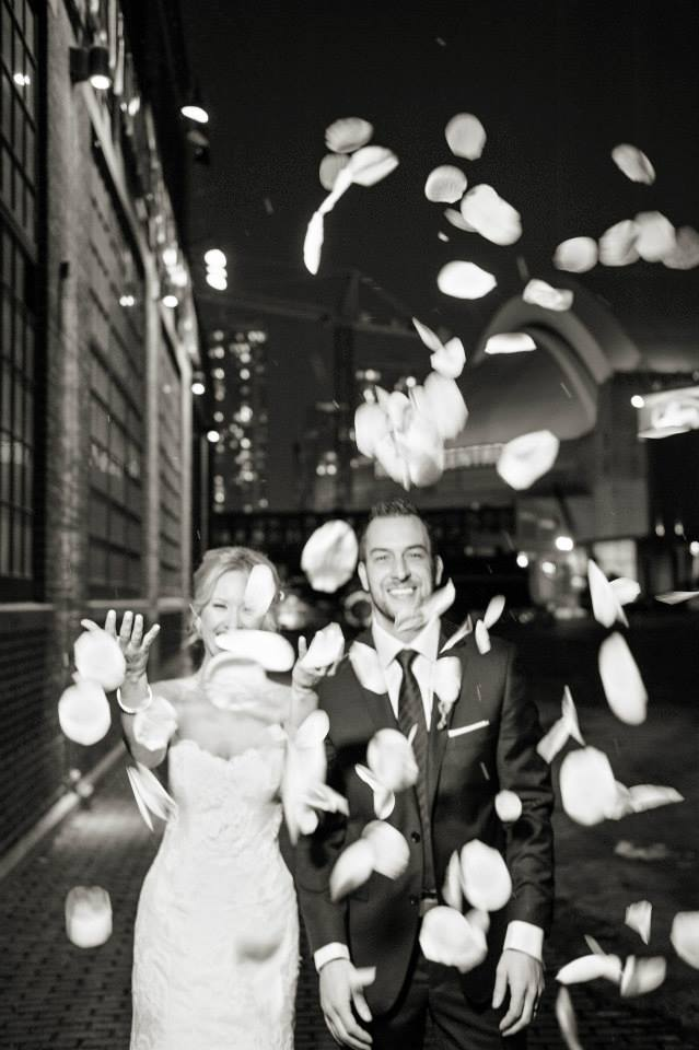 Wedding at the Steam Whistle Brewery. See more at Rebecca Chan Weddings and Events http://www.rebeccachan.ca