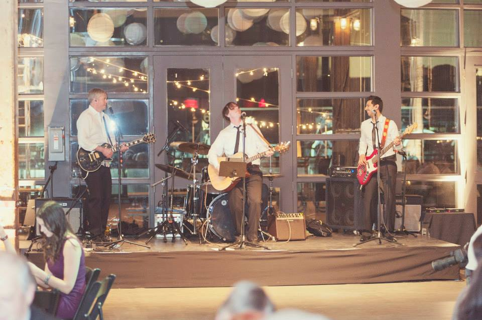 Get guests dancing with a live band.  www.rebeccachan.ca