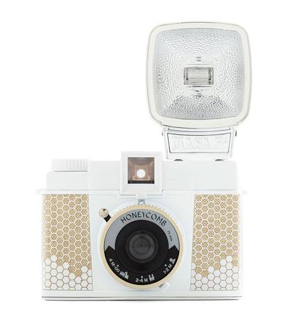 Diana F+ Lomography Camera in Honeycomb