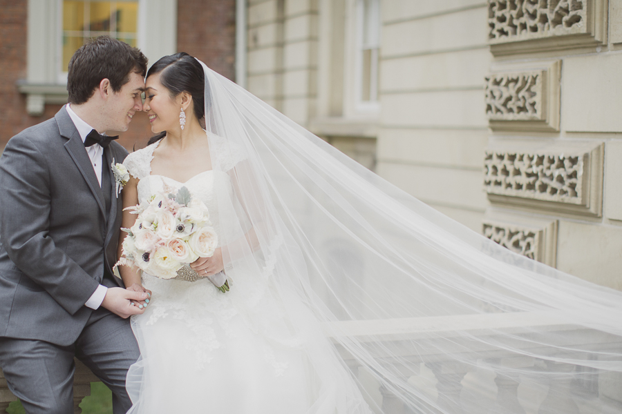 Romantic winter wedding in Toronto. See more at Rebecca Chan Weddings and Events http://www.rebeccachan.ca