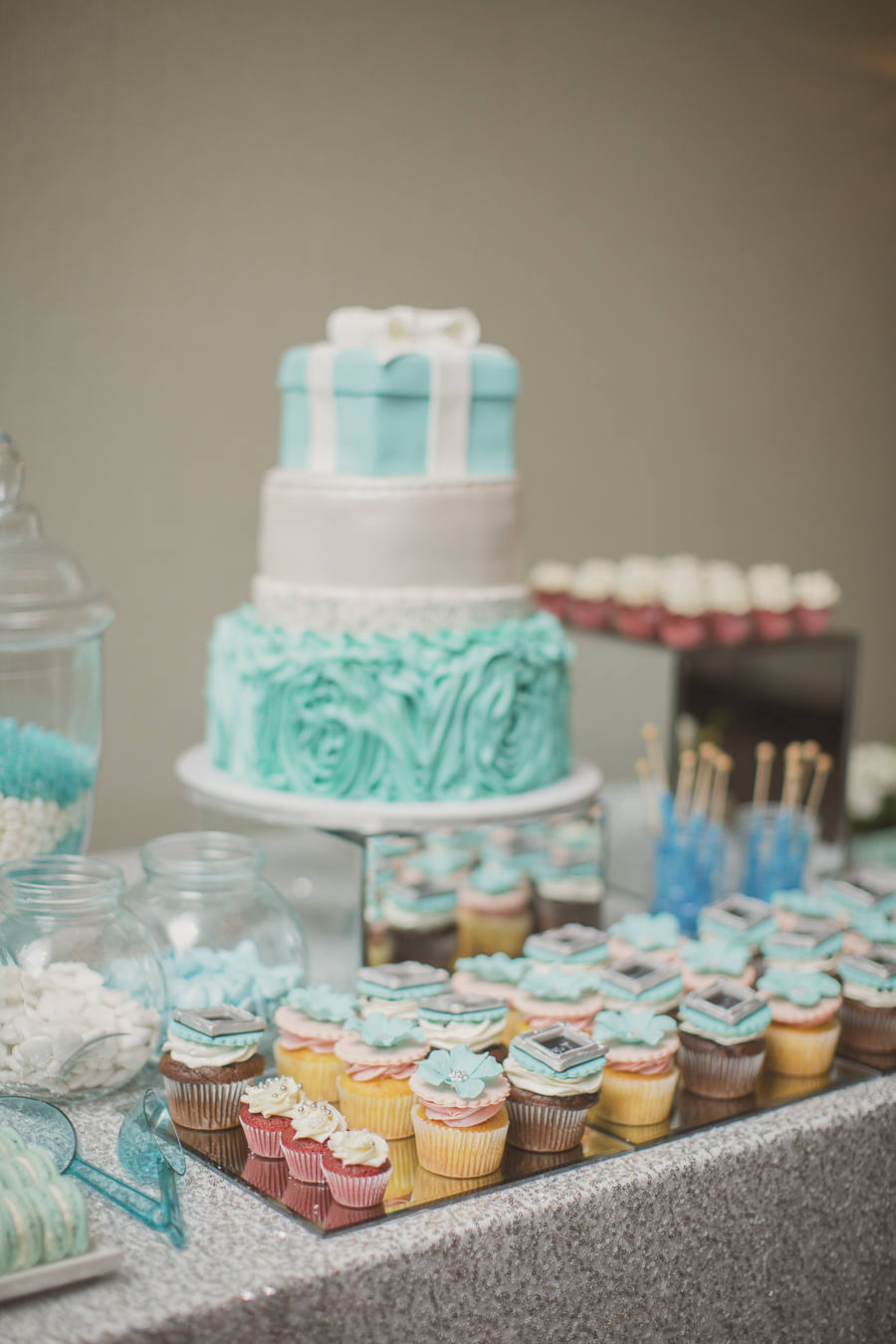 Romantic Tiffany-inspired wedding
