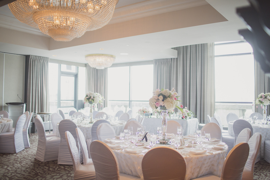Wedding held at the Rooftop Salon at the Park Hyatt Hotel, Toronto. See more at Rebecca Chan Weddings and Events http://www.rebeccachan.ca