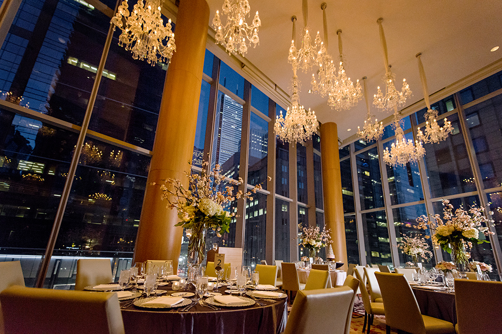 Toronto's best luxury hotels for weddings - Shangri-La Hotel Toronto's Museum Room