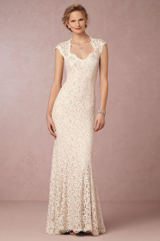 BHLDN Marivana Lace Gown. See more on Rebecca Chan Weddings and Events www.rebeccachan.ca