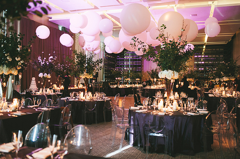 Toronto's best luxury hotels for weddings - Four Seasons Hotel's Aria Ballroom