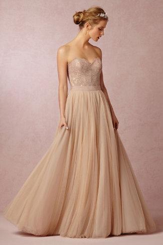 BHLDN Carina Corset and Ahsan Skirt. See more on Rebecca Chan Weddings and Events www.rebeccachan.ca