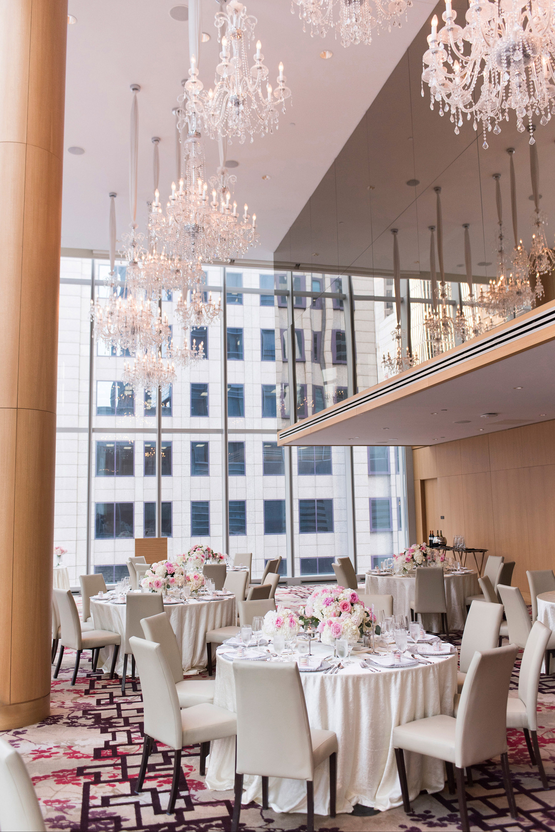 Classic Luxury Wedding at Shangri-La Hotel Toronto. See more at www.rebeccachan.ca