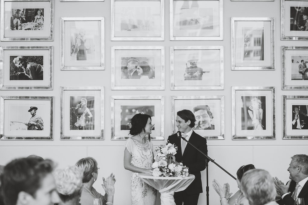 Old Hollywood wall. Classy Malaparte Wedding. Rebecca Chan Weddings and Events www.rebeccachan.ca