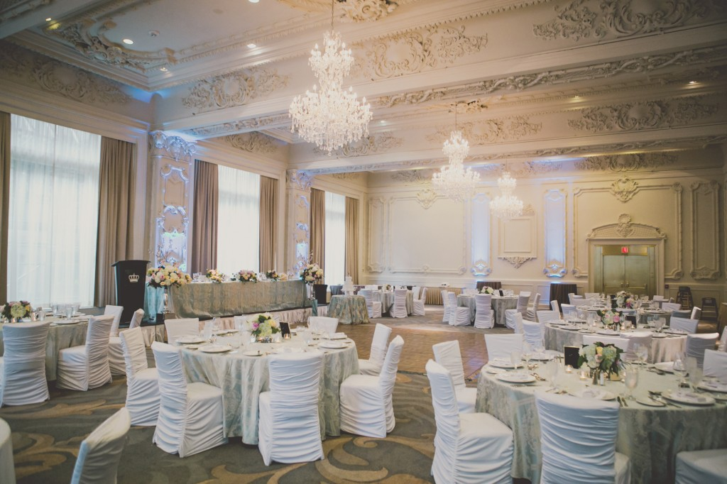 Toronto's best luxury hotels for weddings - The newly renovated King Edward Hotel, Sovereign Ballroom.