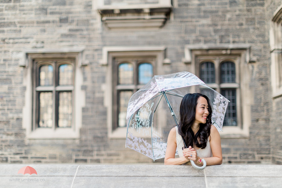 Floral birdcage umbrella from White Umbrella Co - www.whiteumbrellaco.com