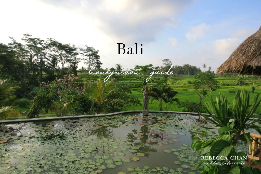 Bali honeymoon travel guide