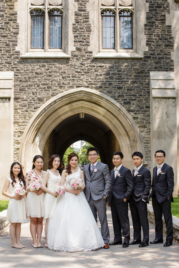 Romantic blush pink wedding at Ritz-Carlton Hotel Toronto