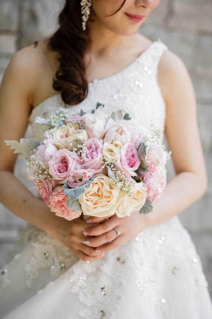 Romantic blush pink wedding at Ritz-Carlton Hotel Toronto