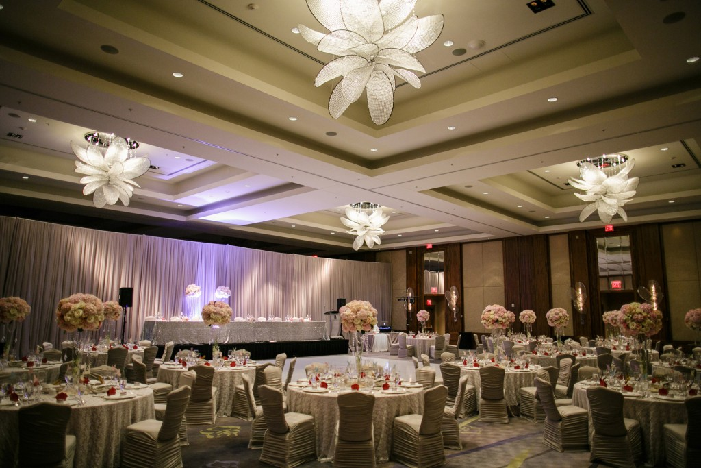 Toronto's best luxury hotels for weddings - Ritz-Carlton Ballroom