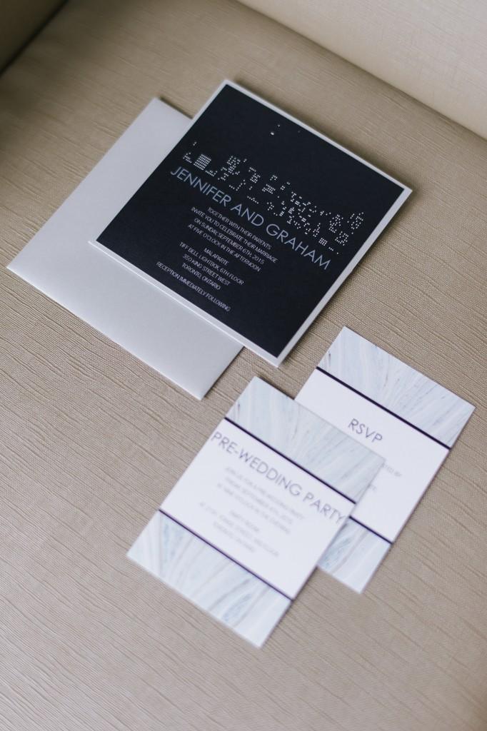 Modern White Wedding at Malaparte in Toronto