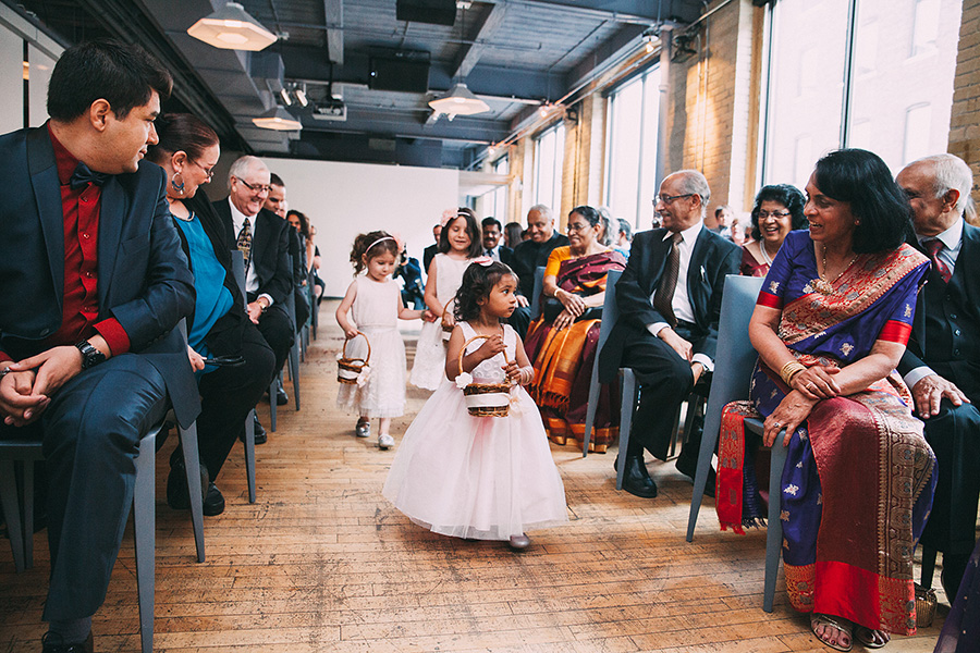 Dan and Rebecca's Big Fat Toronto Wedding, as seen in Style Me Pretty