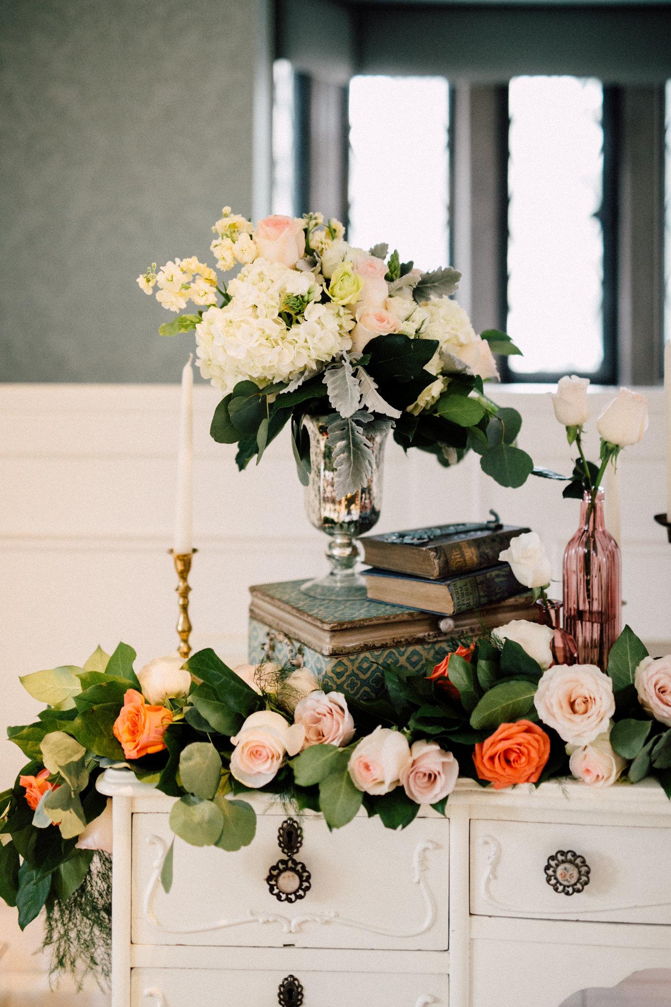 Estates of Sunnybrook indoor ceremony inspiration