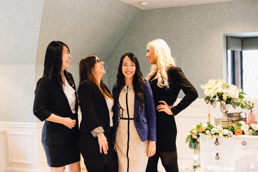 Estates of Sunnybrook open house - Rebecca Chan Weddings and Events team