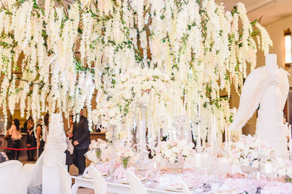 Wedding Trends from the 2016 Wedluxe Show - White and blush colour palettes