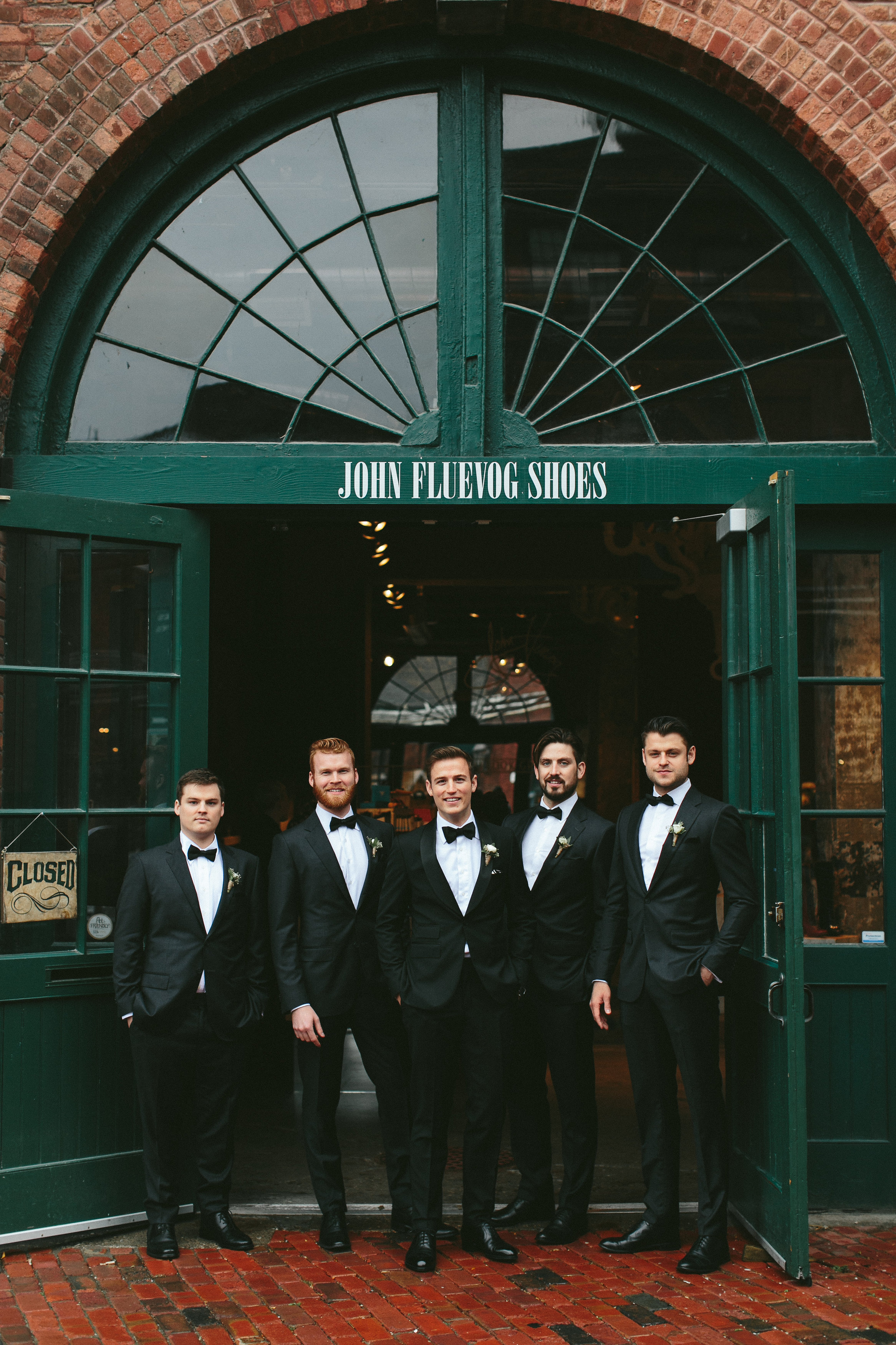 Groomsmen - Elegant and Rustic Toronto Wedding in the Distillery District