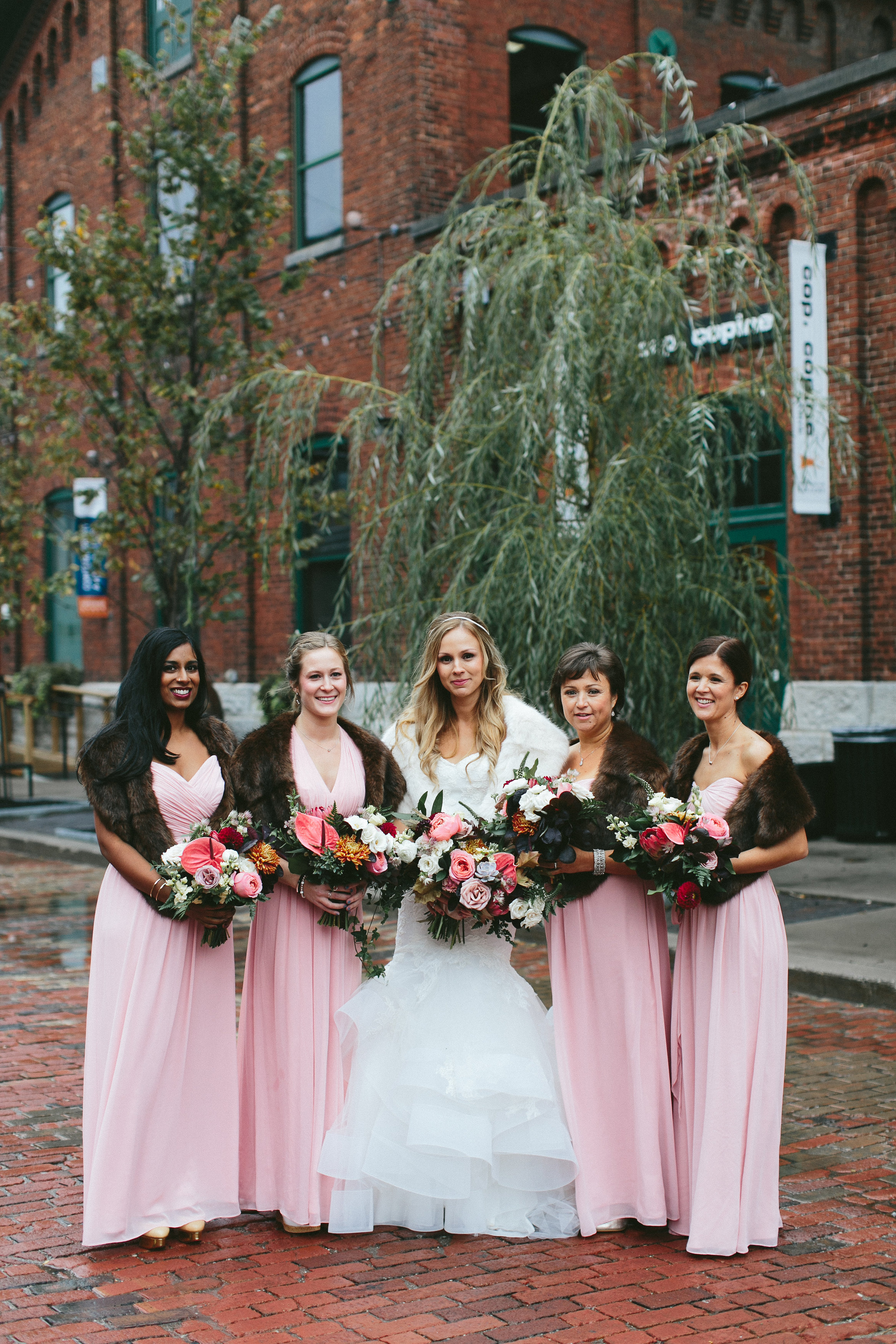 Elegant and Rustic Toronto Wedding in the Distillery District