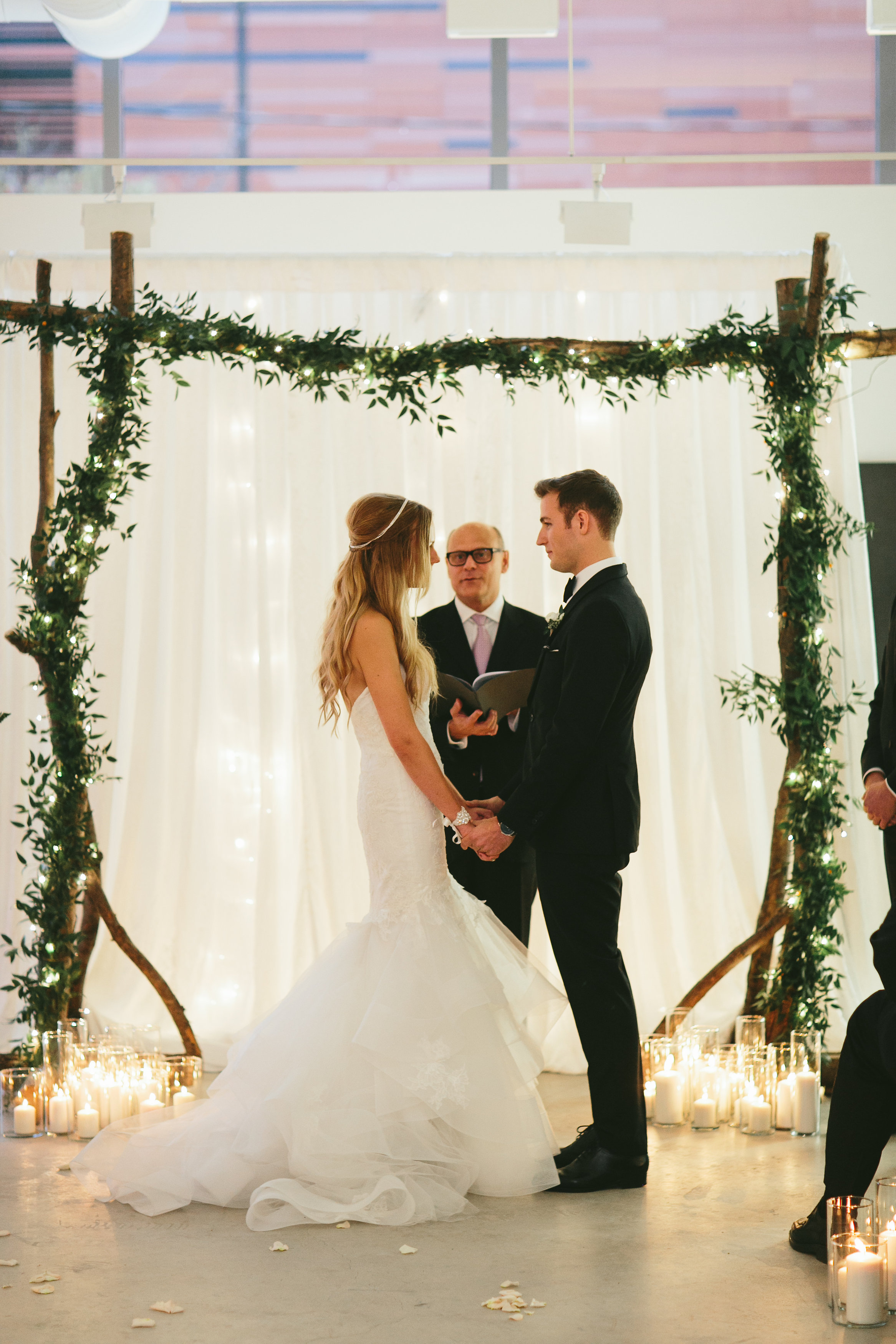 Elegant and Rustic Toronto Wedding in the Distillery District - Ceremony in Julie M. Gallery
