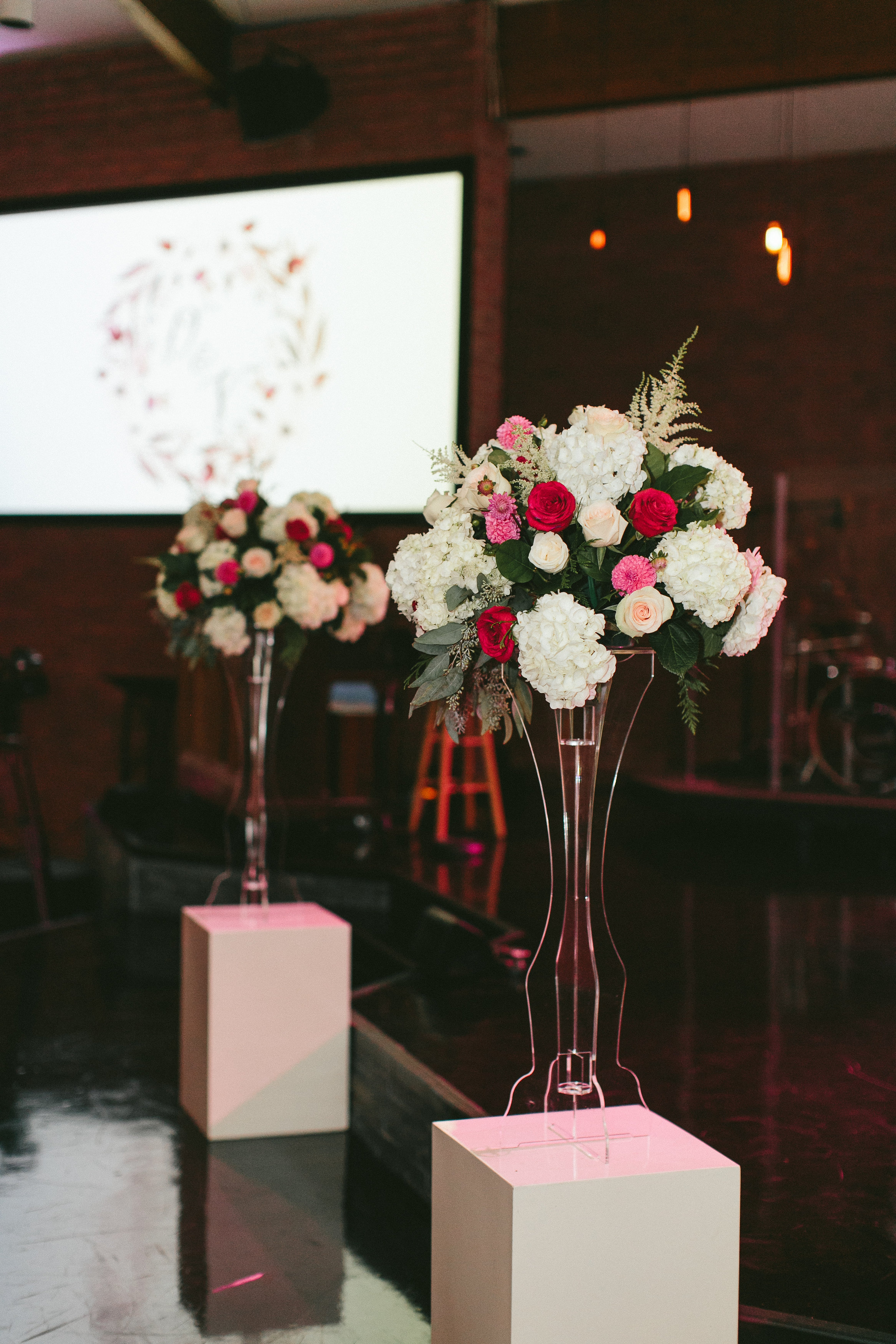 Sophisticated Garden-Inspired Wedding in Toronto at Harvest Bible Chapel